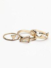 Stacking Ring Trio