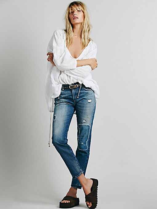 505 Customized Boyfriend Jeans