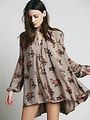 Retro Print Swing Tunic