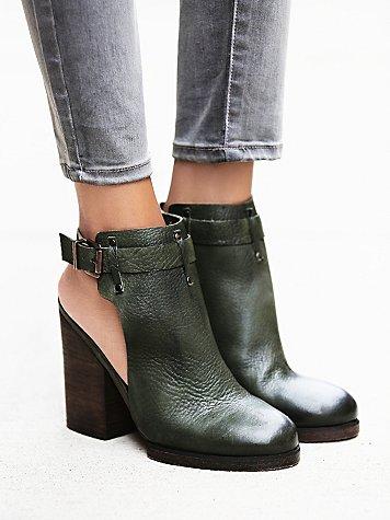 Breton Heeled Boot