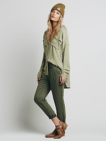 Relaxed Washed Pant