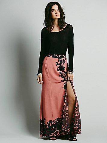 Secret Garden Maxi Skirt