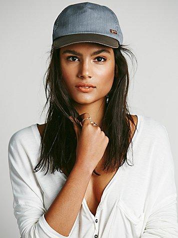 Railroad Leather Brim Hat