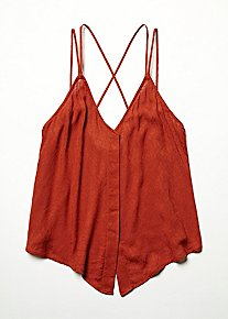 Jacquard Cross Back Cami