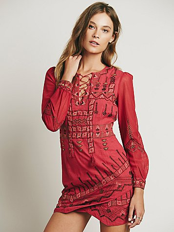 Stella Embroidered Dress