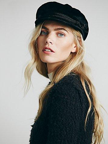 Velvet Lieutenant Hat