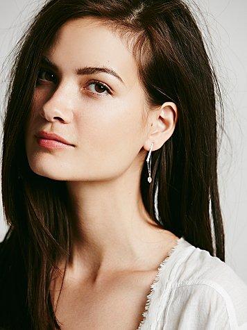 Small Bar Chain Earrings