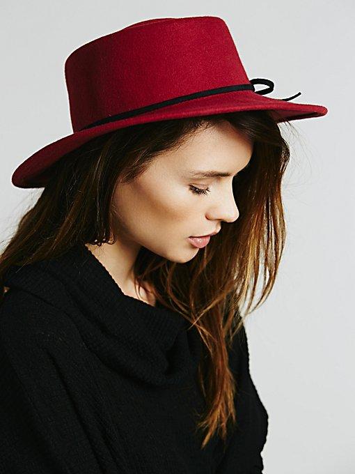 Jinx Flat Top Floppy Hat