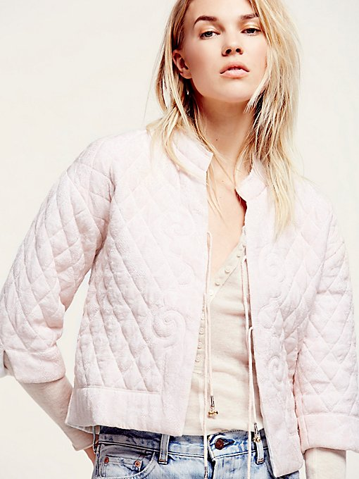 The Just Because Bed Jacket