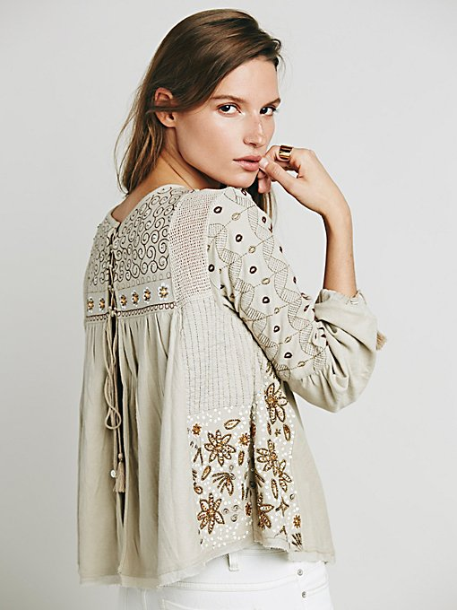 FP New Romantics Fancy Huh Blouse