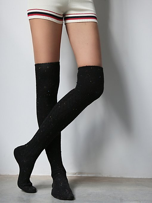 Victorian Speckled Tall Sock