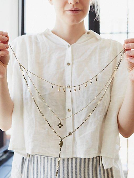 Cherish 3 Chain Necklace