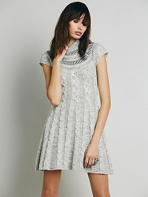 Nordic Nights Sweater Dress