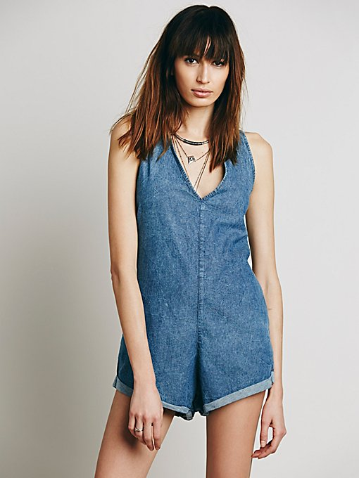 Poppy Denim Jumpsuit