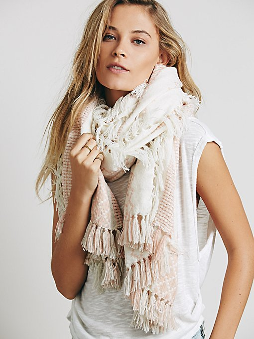 Weave Oversized Convertible Scarf