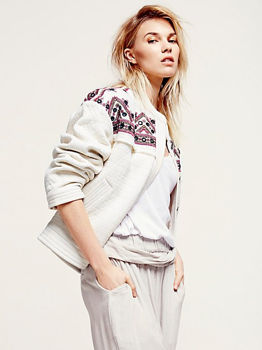 FP New Romantics Embellished Jacket