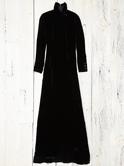Vintage Valentino Velvet Gown