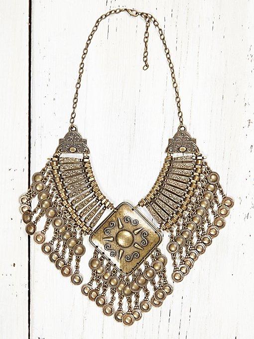 Vintage Gold Neck Piece