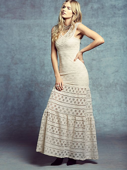 Lace Maxi Gown