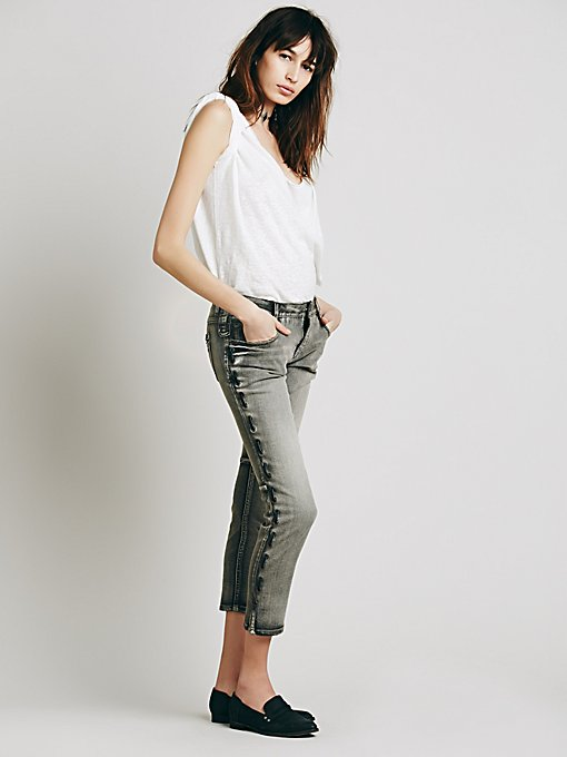 Lost Love Lace Up Skinny