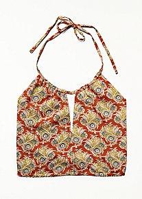 Tie Back Printed Brami