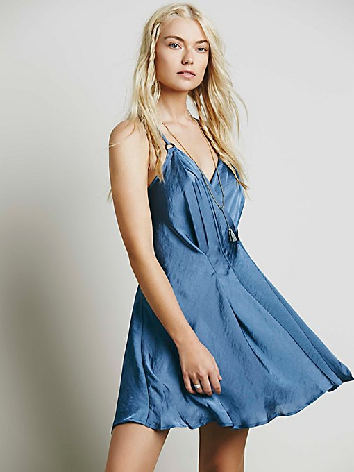 Silver Sky Mini Dress