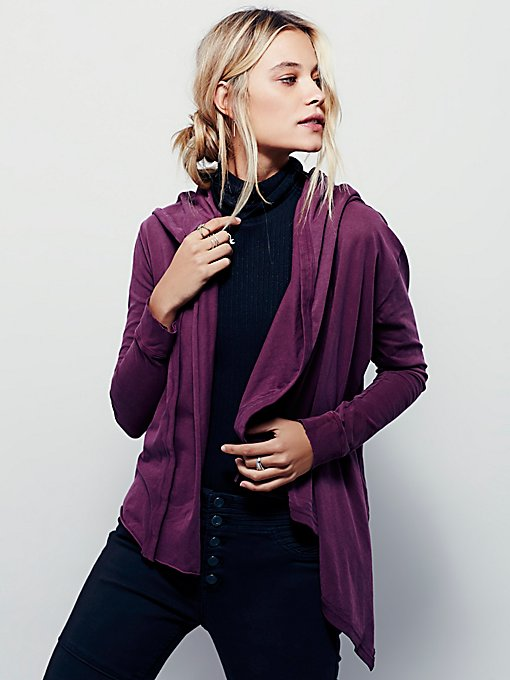 We The Free Wrap Ruffle Cardi