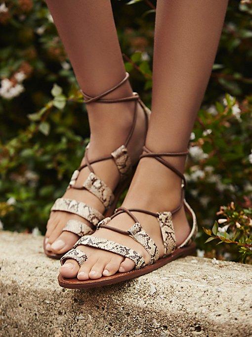 Vegan Maddie Tie Up Sandal