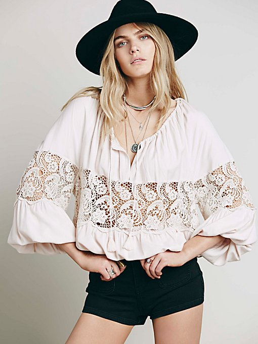 Gotta Love It Peasant Top