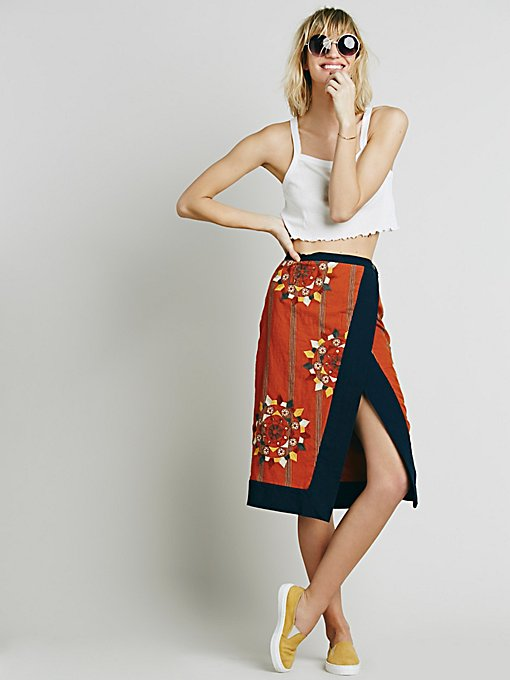 Songbird Wrap Skirt