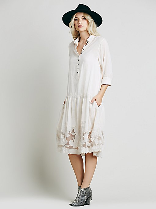 Claudette Shirtdress