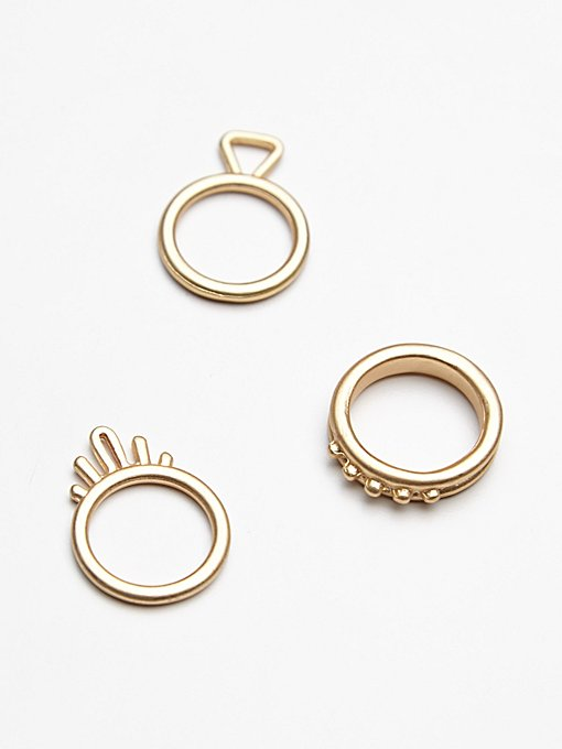 Temple Stacking Rings