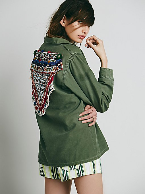 Gypsy River Embellished Jacket