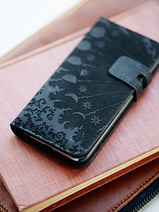 Icon Leather Iphone Case