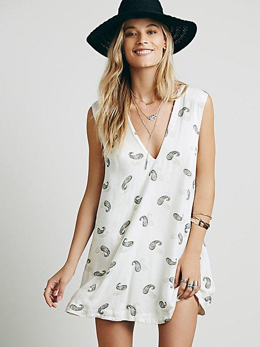 Jagger Printed Mini Dress