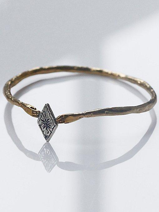 Starry Diamond Cuff