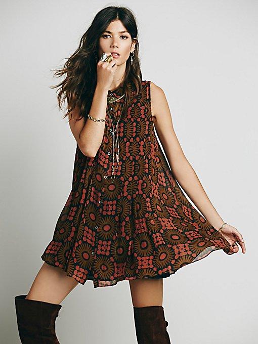 Catch the Sun Printed Dress