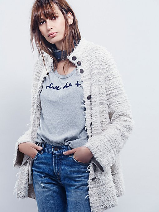 Swing Shaggy Sweater Jacket