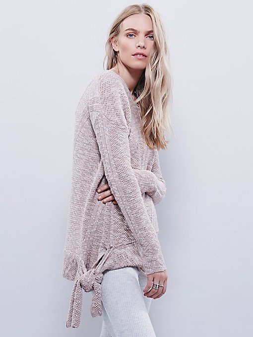 Side Tie Pullover