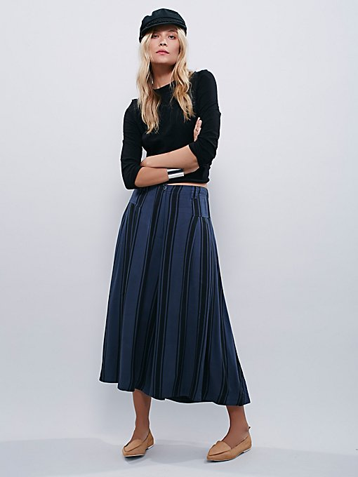 So Good Striped Culottes