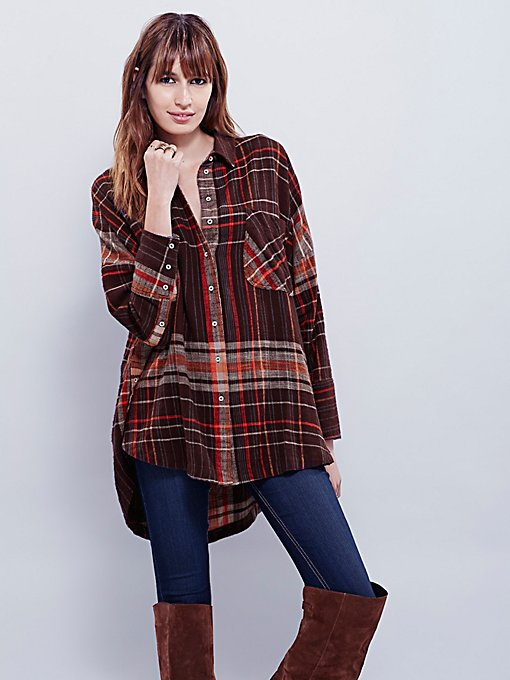 Plaid Molly Tunic