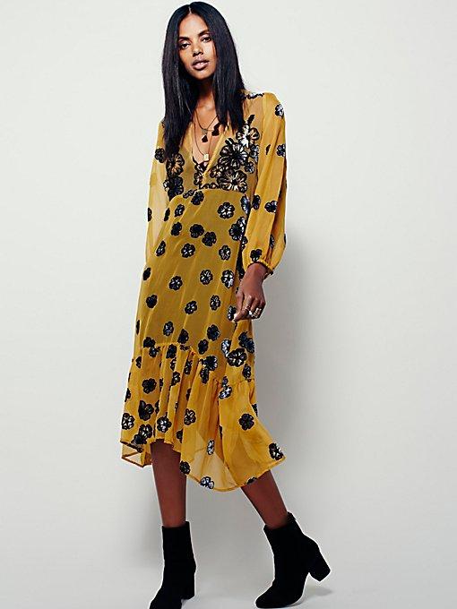 Sierra Scarf Midi Dress
