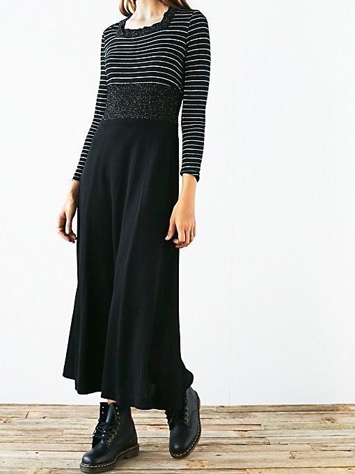 FP Vintage 1970s Knit Dress