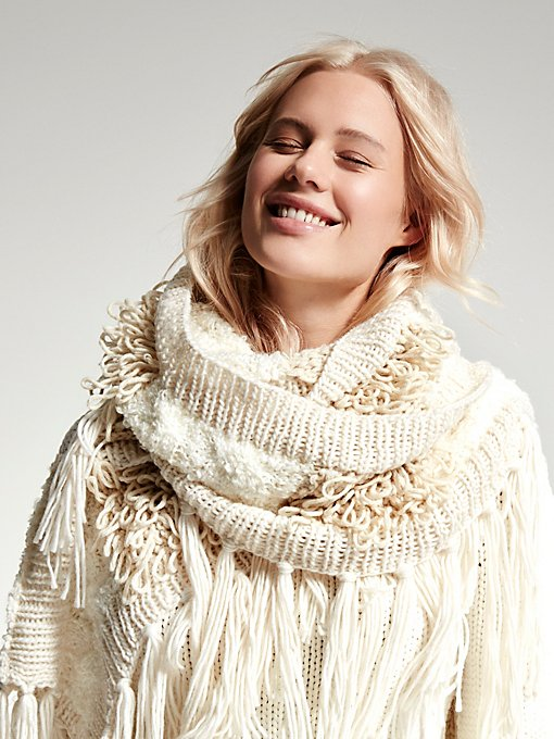 River Rock Fringe Scarf