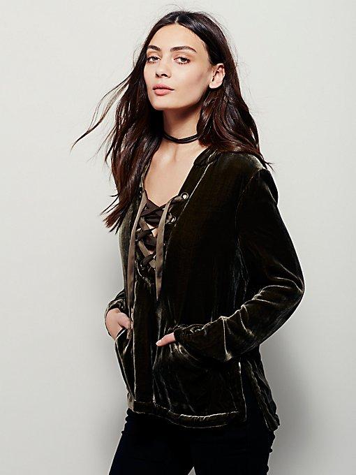 Silk Velvet Pullover