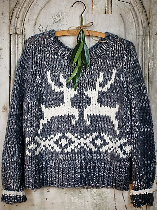 Dancer & Prancer Sweater