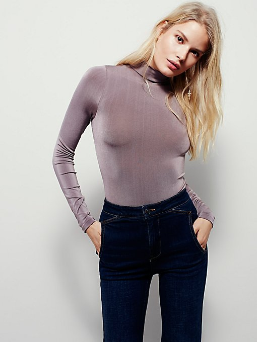 Chic Shimmer Turtleneck