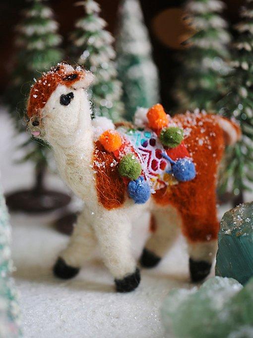 Llama Ornaments
