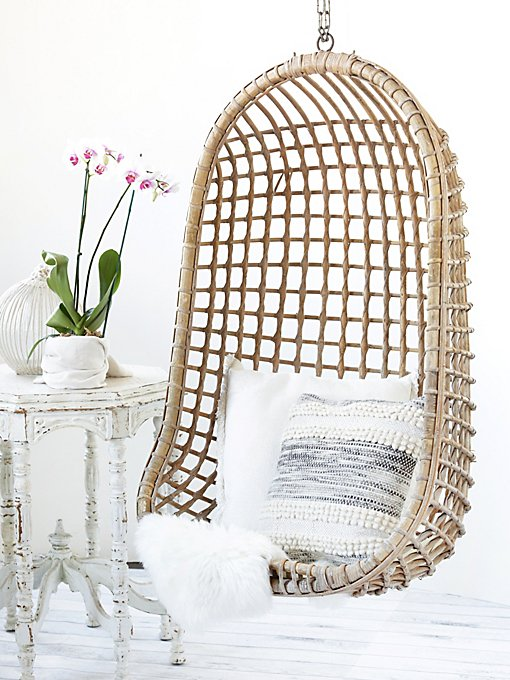 Vintage Rattan Hang Chair