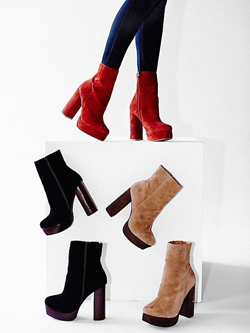 Skyline Platform Ankle Boots